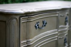 Inspire Me Designs: French Provincial Dresser Guy Style