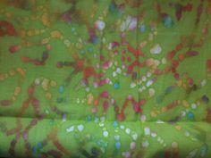 One Full Yard Quality Batik fabric by GnomeGoods.etsy.com