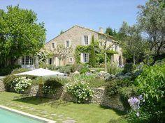 Sublime jardin paysagé typique Provencal