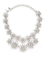 Kenneth Jay Lane, Starburst Double-Row Necklace