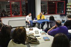 #lettidinotte in @BMTCampobasso con Michele Paparella, libraio che ci ha consigliato le opere di Alberto Manguel.
