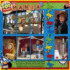 Toy Story Mania - Page 4 - MouseScrappers.com