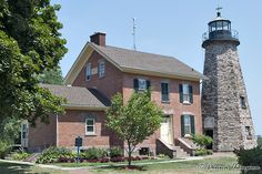 Charlotte Genesee Lighthouse located in Rochester, NY