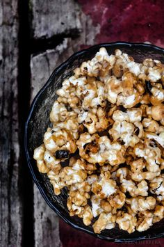 Salted Caramel Popcorn w/ Mango Habanero Jerky {and a TODAY Show Video}