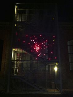 led installation made out of Joule thief's !
