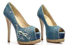 Womanliness Your fashion style -Peep-toe Heels - stylishplus.com