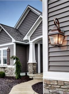 Love the exterior color scheme especially the black trim paired with the white outer trim for How long for exterior paint to cure