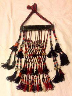 Uzbek silk tassel ethnic old cored tassel by akcaturkmen on Etsy
