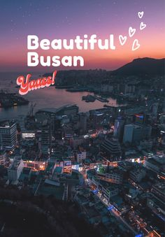 Busan, the second biggest city in Korea, is full of travel spots to visit. We have 10 places to travel in Busan and you will not miss anything there. South Korea Travel, Asia Travel, Travel Tips, Life In The 1950s, Cities In Korea, Places To Travel, Places To Visit, Sightseeing Bus, Vacation Spots