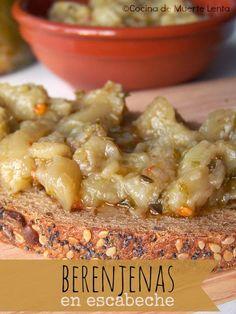 Blog de recetas vegetarianas y veganas. Por un mejor estilo de vida Antipasto, Pickles, Cooking Tips, Risotto, Oatmeal, Vegetables, Breakfast, Healthy, Ethnic Recipes