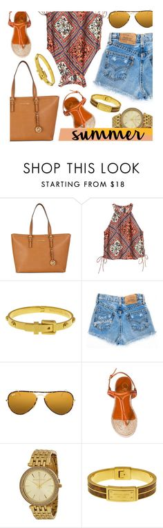 """""""Have Fun"""" by jomashop ❤ liked on Polyvore featuring Ray-Ban and Charlotte Olympia"""