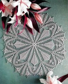 Crochet Pattern Of Nice Lace Doily