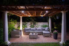 HomeAdvisor | 4 Ways to Create a Stunning Outdoor Living Space | Perfect your pergola.