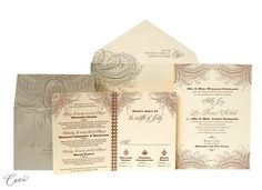 Flourish - Wedding Invitations - Ceci Ready-to-Order Collection - Ceci Wedding - Ceci New York