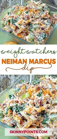 One the best recipes! to make this Neiman Marcus dip Recipe You will need: Ingredients: 5 – 6 green onions 8 oz. slivered almonds Directions: Open Next Page Neiman Marcus Dip, Weight Watchers Appetizers, Weight Watcher Dinners, Weight Watchers Vegetarian, Skinny Recipes, Ww Recipes, Cooking Recipes, Cooking Time, Healthy Dip Recipes