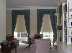 drawing room georgian style window dressings - Google Search