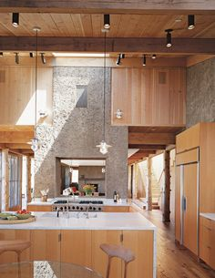 timber frame with rammed earth...