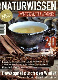 Kräuter und Gewürze für den Winter. Gefunden in: Naturwissen, Nr. 1/2015