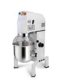 white stand mixer in Edmonton - letgo Commercial Restaurant Equipment, Bread Mixer, Electric Mixer, Stand Mixer, Espresso Machine, Coffee Maker, Kitchen Appliances, 20 Liters, Belt