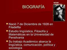 Noam Chomsky by Margarita Manrique via slideshare