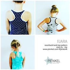 This listing is for a digital download for a sewing pattern. This listing is NOT for an actual garment. The Fjara tank top pattern is a versatile basic. The pattern has a fun racerback neckline, slim fit and is a bit longer to prevent bare bellybuttons! The pattern is designed for knit fabric. Buyers receive a discount code for 25% off ribbing/cuff fabric over at JoyFits (www.joyfits.nl) in the months of July & August of 2016.  The pattern comes in sizes 2y, 3y, 4y, 5y, 6y, 7y, 8y, 1...