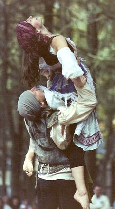 Gypsies by anachronista, via Flickr  dancing gypsies at King Richards Faire in Masschusets.  1989or 1990