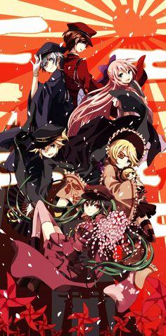 Vocaloid, Megurine Luka, KAITO, Kagamine Len