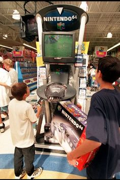 nintendo 64 1996 that was totally me.