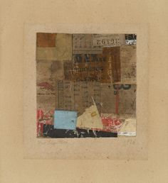 archives-dada:  Kurt Schwitters, Sans titre (36192), 1926, Collage of papers on paper, 39/10 × 33/5 in, 94/5 × 91/5cm, Galerie Zlotowsk...