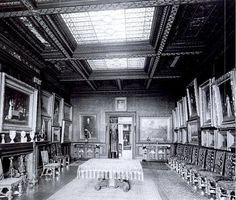 Cornelius Vanderbilt II Residence   Fifth Ave @ 57th Street, New York, NY. Dining Room and Gallery.