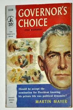 1956 Governor's Choice by Martin Meyer. Vintage by RustyCurios