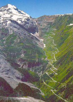 Der Simplonpass, Schweiz