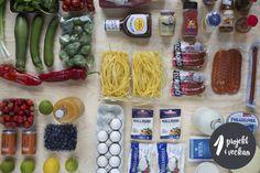 Rensa och organisera i kylskåpet - projekt vecka 5