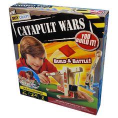 Boy Craft Catapult Wars Game