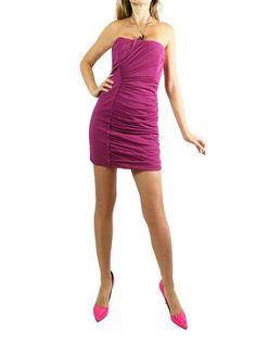 ALBERTA FERRETTI Raspberry Dress. 42/M $90 http://www.boutiqueon57.com/products/alberta-ferretti-rasbery-dress-42
