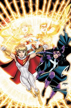 Power girl's new costume, new Earth 2 seems interesting! (from Bleeding Cool)