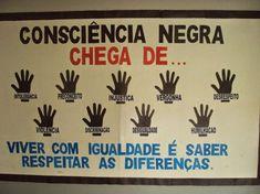 Murais Dia da Consciência Negra - 20 de Novembro. — SÓ ESCOLA