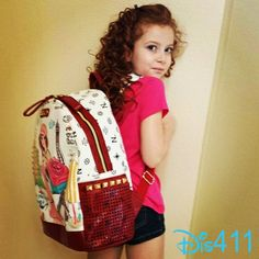 Photo: Francesca Capaldi Loves Her New Backpack For School August 27, 2014