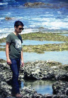 rancabuaya pantai beach