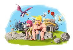 Digital paintings, cosplay, sculptures, and other fan art from Supercell's popular mobile game, Clash of Clans. Clash of Clans Cake Clash of Clans Cospl. Best of: Clash of Clans Fan Art Clash Of Clans Hack, Game Update, Pikachu, Sculptures, Fan Art, Deviantart, Cards, Painting, Fanart