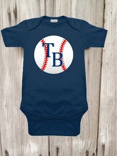 A personal favorite from my Etsy shop https://www.etsy.com/listing/467137388/rays-inspired-bodysuit-for-baby-boy