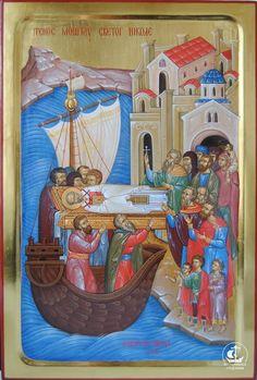 Byzantine Art, Byzantine Icons, Religious Icons, Religious Art, Saint Nicholas, Ad Art, Orthodox Icons, Vanitas, Christian Art