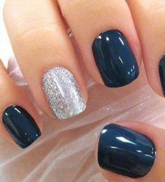Fall Nails | Flip Flops & Furs
