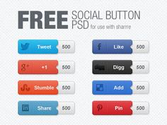 Ultimate Collection Of Free PSD Buttons-17