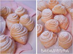 Badambura - almond cookies http://ilovebake.pl/2014/11/04/badambura-ciastka-kruchodrozdzowe-z-nadzieniem-migdalowym-przepis/ #cookies #recipe