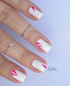 lackfein. blogpost:  essie - blanc Orly - Neon Heat nagelsticker