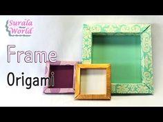 origami - moldura, escritura do tablete - YouTube