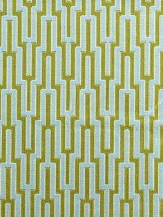 Schumacher Fabric - Metropolitan Velvet - Reef - Price Per Yard: $111.99
