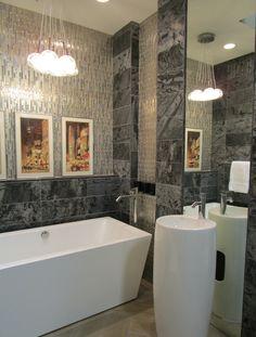 Serene Bathroom In Our New Tampa Showroom My Work Commercial - Bathroom showroom tampa