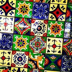 Mexican Tiles-Meksika Karosu